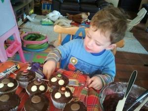 xmas muffins 2012